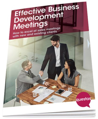 Effctive Business Development Meeting booklet cover