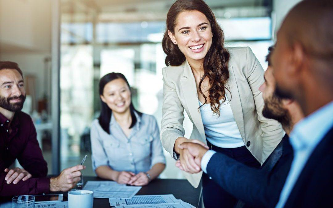 Seven steps for a successful first business meeting