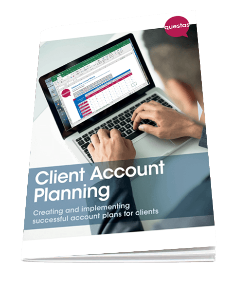 Client Account Planning - free training guide from Questas Consulting