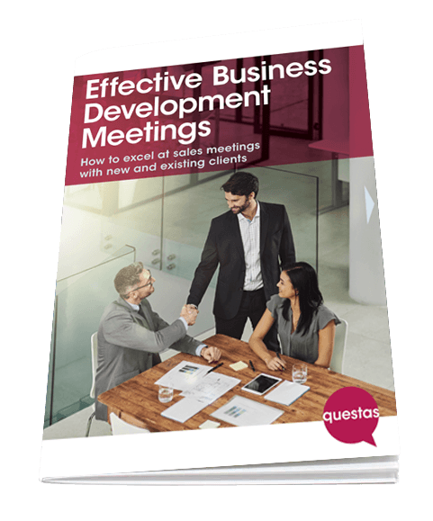 Effective Business Development Meetings - free training guide from Questas Consulting